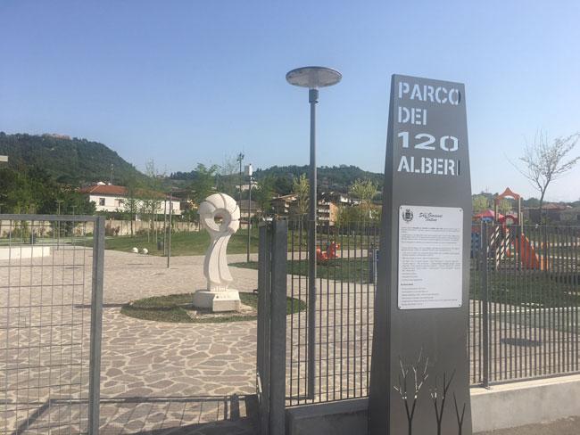 parco 120 alberi San Giovanni Teatino