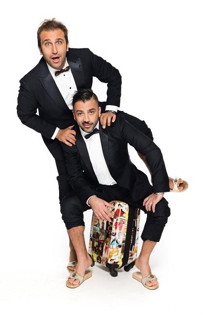 """Pio e Amedeo """"Tutto fa Broadway"""" il 7 agosto a Pescara"""