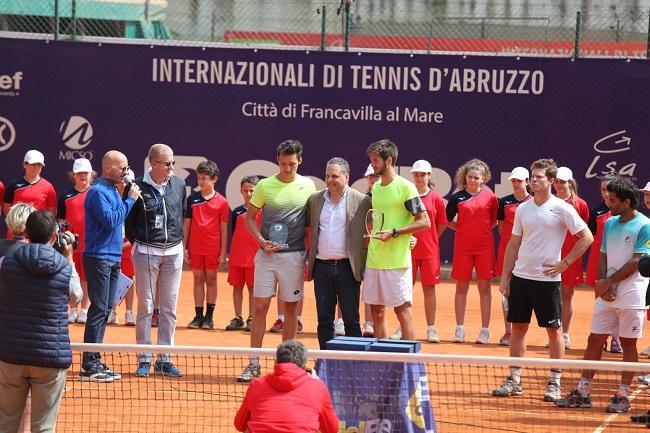 Internazionali Tennis doppio coppia italiana Ocleppo Vavassori