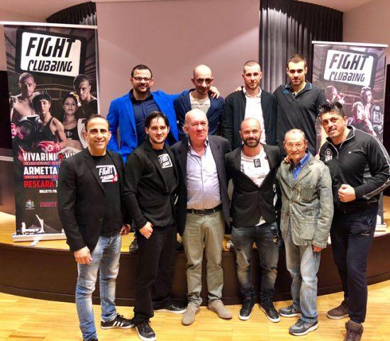 presentazione Fight Clubbing International Championship