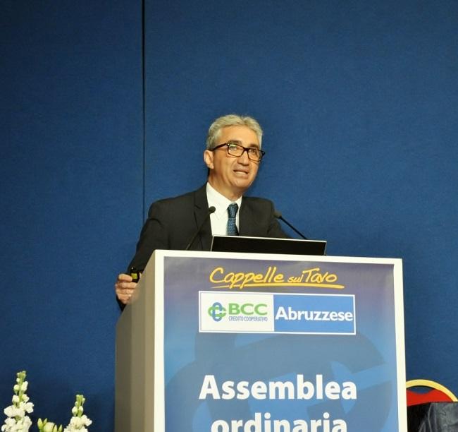 Cappelle sul Tavo, Michele Borgia riconfermato presidente della Bcc Abruzzese