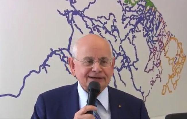 Il presidente TUA Tullio Tonelli