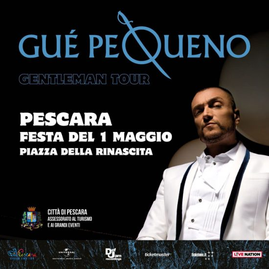 rapper Gue Pequeno Pescara Primo Maggio 2018