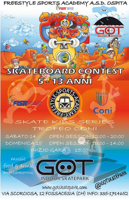 skate kids series 2018 Fossacesia