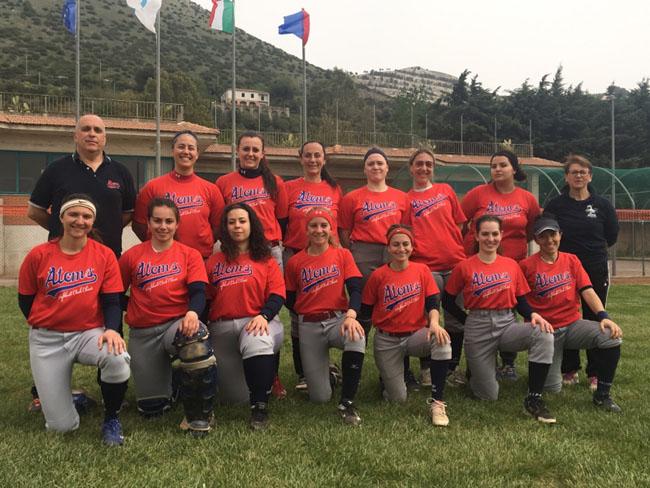 Softball, Atoms Chieti fuori dalla Coppa Italia di Serie A2
