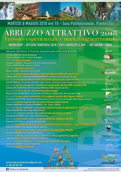 abruzzo attrattivo 2018 pineto