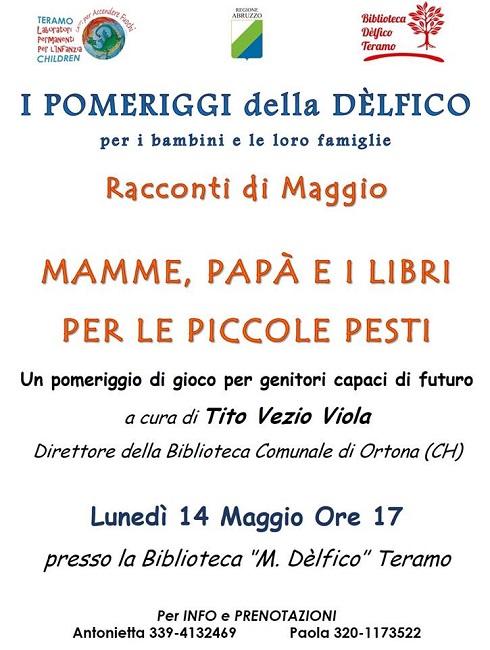 biblioteca delfico 14 maggio