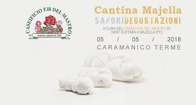 Cantina Majella degustazioni mozzarella il 5 maggio 2018