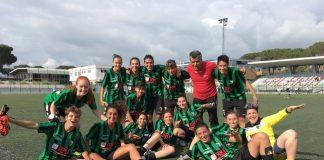 successo esterno Chieti Calcio Femminile Roma