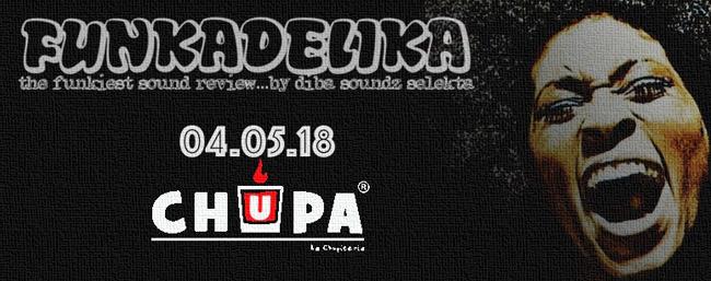 Funkadelika serata a Chupa Pescara il 4 maggio