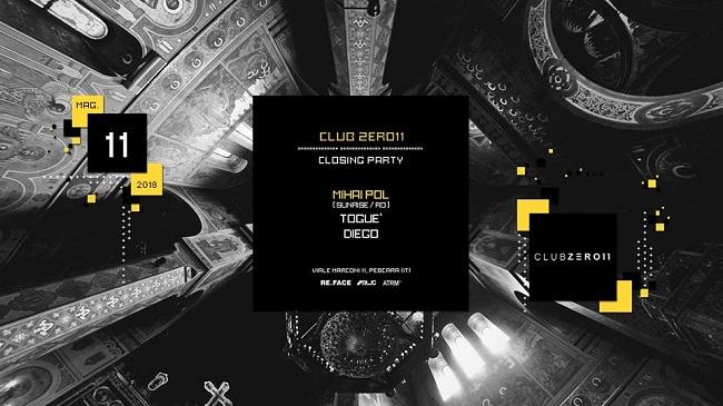 Club Zero11 Pescara 11 maggio 2018