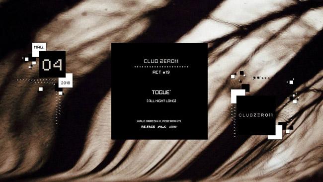 Club Zero11 4 maggio 2018