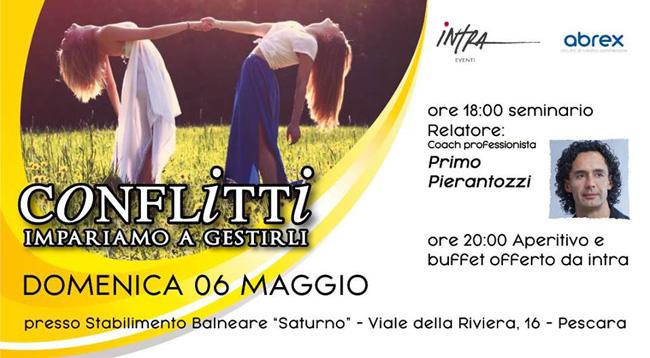 Conflitti impariamo gestirli seminario Pescara 6 maggio