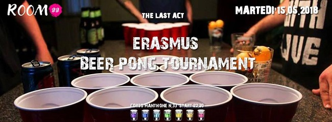 Beer Pong Tournament ultimo atto Room 33 Pescara