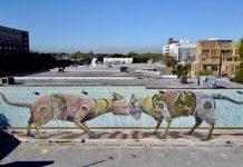 PixelPancho Montesilvano hue mural Festival Houston