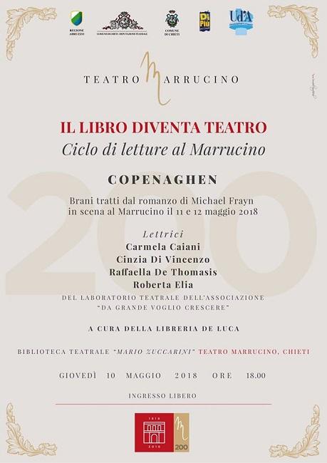 il libro diventa teatro 10 maggio