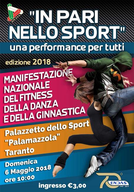 In pari nello sport: oltre 30 atleti Abruzzesi a Taranto