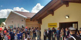 Montereale inaugura nuovo centro aggregativo antisismico
