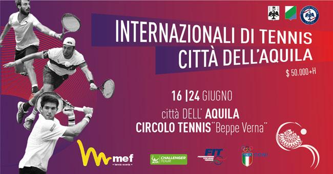 L'Aquila, Internazionali di Tennis: domani il taglio del nastro