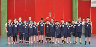 la squadra della nuova sangro basket