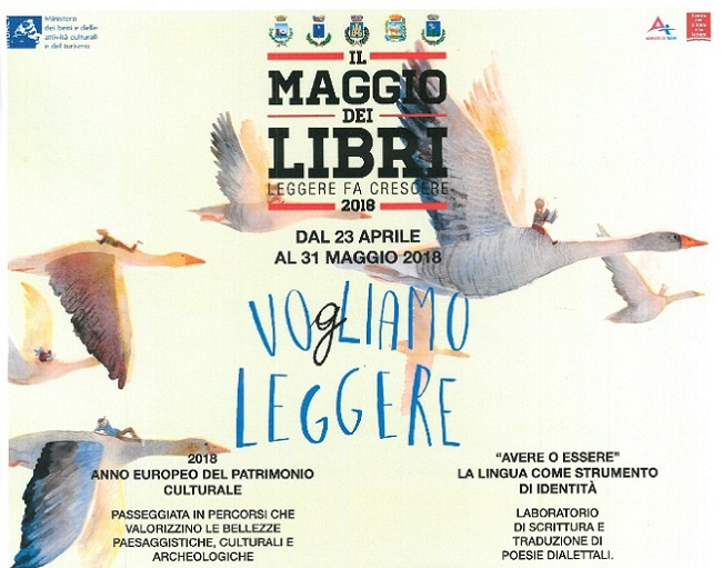 Il Maggio dei libri iniziative provincia Teramo Martinsicuro Colonnella Corropoli Sant'Egidio Tortoreto