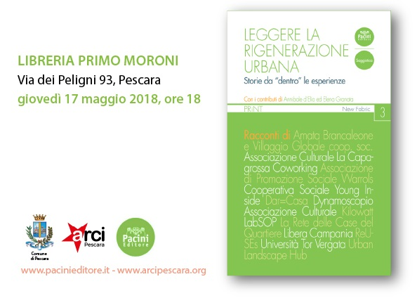 incontro riqualificazione urbana periferie libreria Moroni Pescara