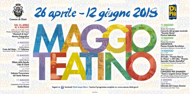 Maggio Teatino 2018