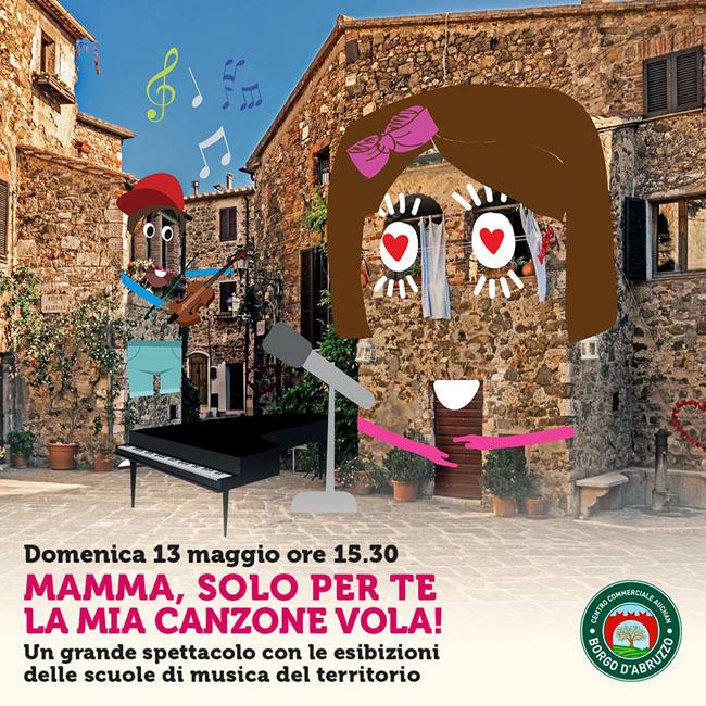 Festa della Mamma al Borgo d'Abruzzo di Cepagatti 13 maggio 2018