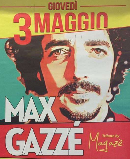Max Gazzé tributo di Magazé Alle Botti Montesilvano