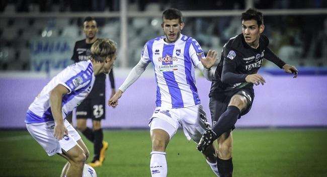 Pescara Venezia andata 2017-2018
