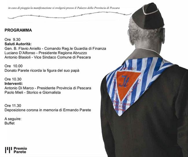 Convegno Pescara ricordare Ermando Parete