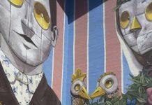 PixelPancho completata opera di Street art Montesilvano