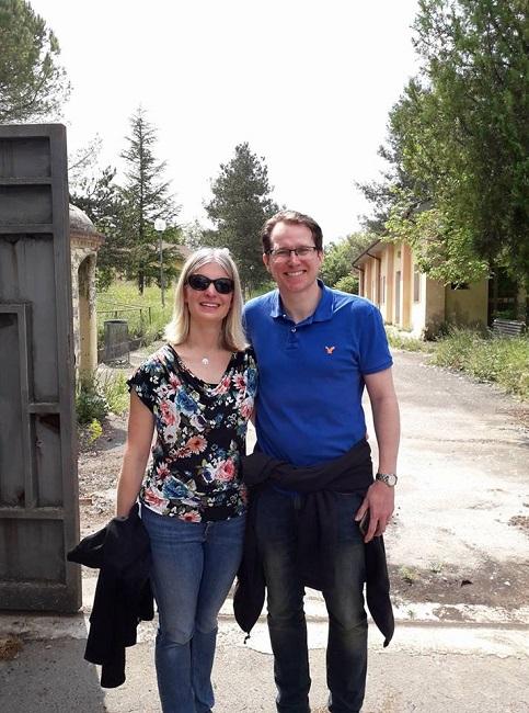 Teresa Clowes Bartholomew-col marito entrata del campo 78