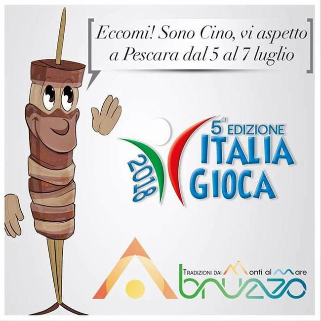 Italia Gioca Pescara 2018 14 regioni in gara