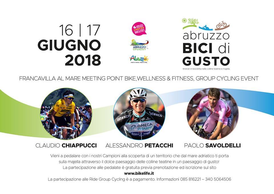 Abruzzo bici di gusto 2018