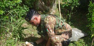 Chieti intervento esercito bonifica territorio