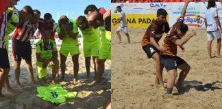Beach Soccer Vasto sfida Nettuno intervista mister Tirocchi