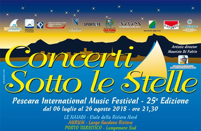 Pescara International Music Festival 2018 programma