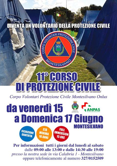 corso protezione civile Montesilvano