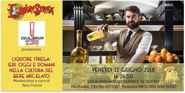 Liquore Strega masterclass con Alex Frezza Pescara