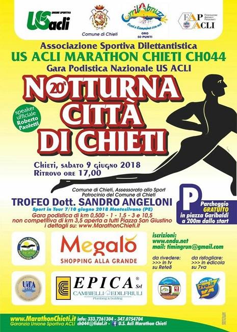 maratona notturna chieti