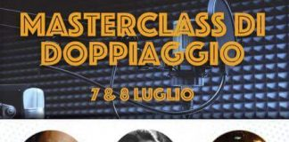 Masterclass doppiaggio 7 8 luglio Mosciano