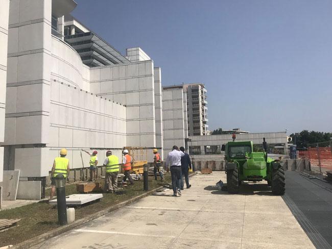 rimozione lastre tribunale Pescara