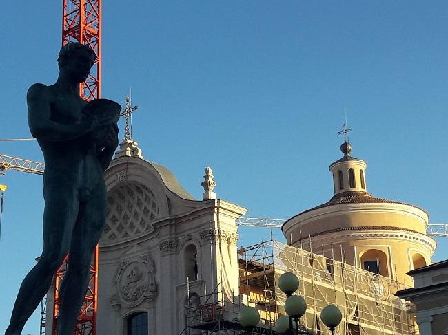 Santa Maria del Suffragio - cupola ricostruita