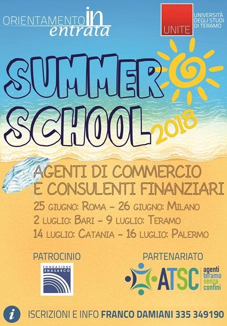 Corso di Laurea per agenti di commercio in viaggio per l'Italia