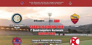 Calcio giovanile quadragolare con Inter Roma Torre de' Passeri