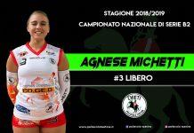 Agnese Michetti pallavolo teatina