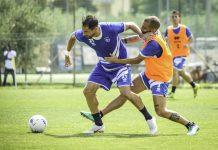 Pescara Calcio amichevole famiglia Vestina