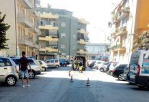auto abbandonata via Malagrida Pescara