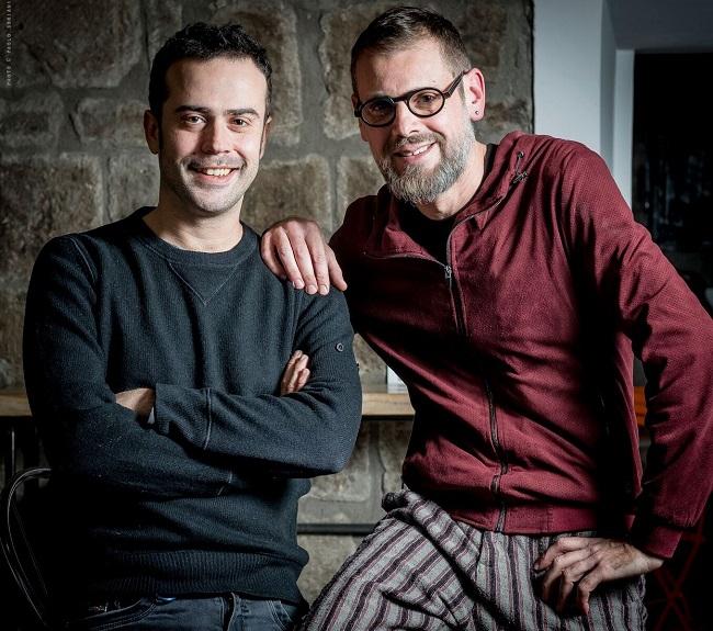 Fabrizio Bosso e Giovanni Guidi sul palco di Estatica